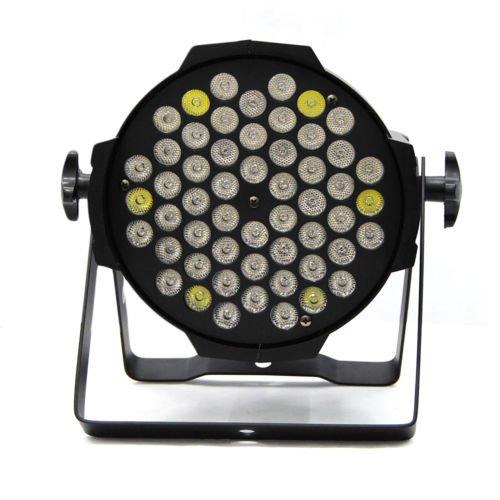 I3C 4pcs 54 x 3w LED RGB PAR64 DMX Stage Party Effect Light