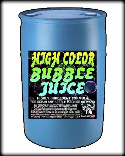 55 Gal - HIGH COLOR Bubble Juice Fluid - Vibrant Iridedcence
