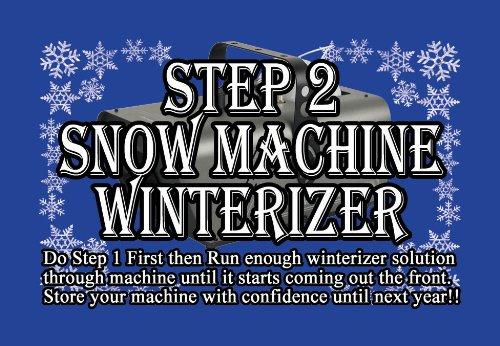 Universal Snow Machine Cleaner and Winterizer Kit