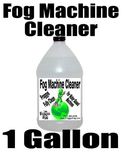Fog Machine Cleaner Fluid - Froggys Fully Clean - 1 Gallon