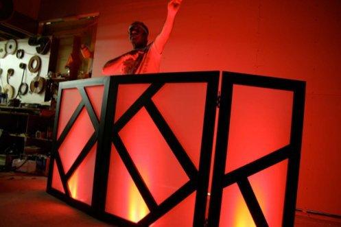 DJ Facade / DJ Booth - Dragon Frontboards - Tatsu 4 Panel