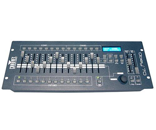 CHAUVET OBEY70 LED Universal DMX-512 Light/Fog Controller + w/ 10' & 25' Cables