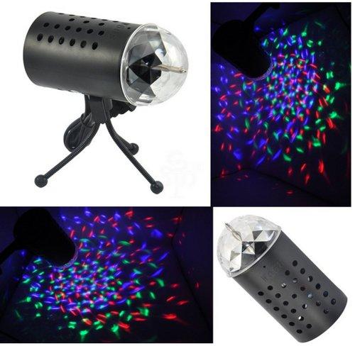 disco Dj Stage Lighting Rotating Strobe LED RGB Crystal Rainbow Color Effect Light KTV Xmas Party Wedding Show Club Pub