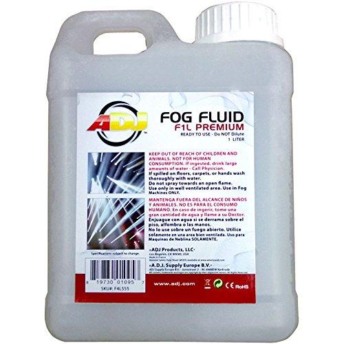 ADJ Products F1L PREMIUM Water Based Fog Liquid, 1-Liter
