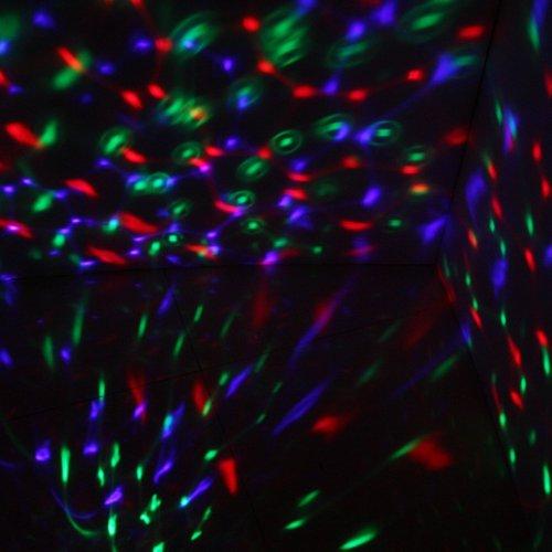 HOSL Disco DJ Stage Lighting LED RGB Crystal RAINBOW COLOR Effect light KTV Xmas Party Wedding Show Club Pub