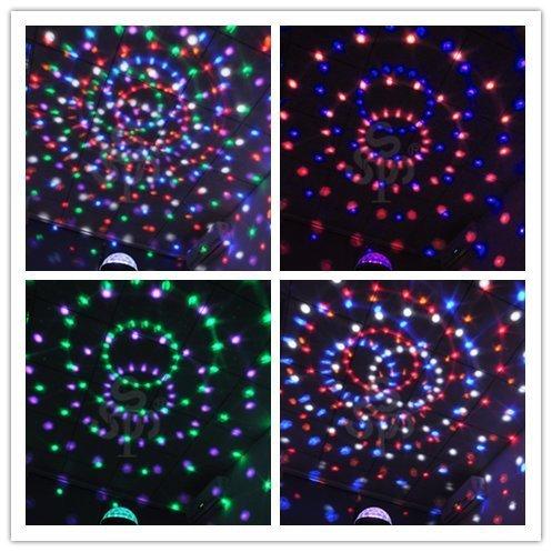Superstar™ Digital LED RGB Crystal Magic Ball Effect Light DMX Disco DJ Stage Lighting for disco, ballroom, KTV, bar, stage, club, party