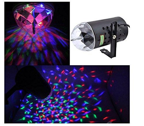 Disco Dj Stage Lighting LED RGB Crystal Light Dj Disco KTV Birthday Party Wedding Show Club Pub Bar