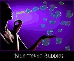 Tekno Bubbles - Blue UV Blacklight Reactive - Half Gallon - 64 Ounce