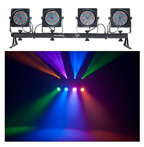 CHAUVET 4BAR FLEX LED RGB DMX Mountable DJ Light System w/ CH-01 Stand & Cable