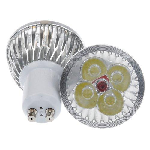 Lemonbest® Energy Saving Dimmable 4W 4x1W GU10 LED Spotlight Bulb 110V, Cool White