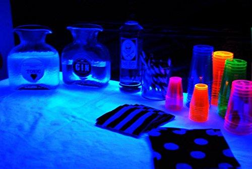 Triangle Bulbs 13 Watt Spiral Energy Saving CFL Light Bulb Medium Base Ultra Violet UV Blacklight Blue,