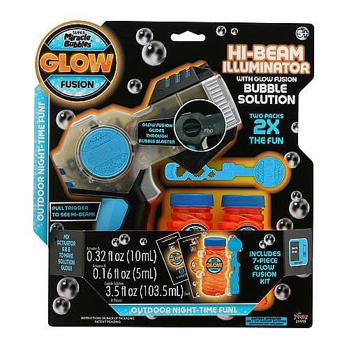 Glow Fusion Hi-Beam Illuminator Bubble Blaster