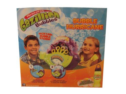 Gazillion Bubbles Bubble Hurricane Machine & 67.6 Oz of Gazillion Bubbles Solution