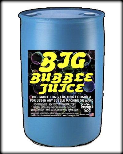 55 Gal - BIG Bubble Juice - Enormous Long-Lasting Bubble Fluid