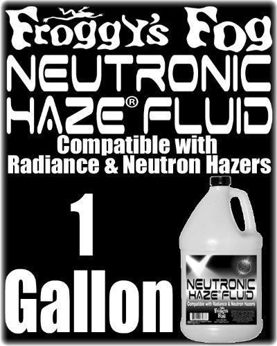Froggys Neutronic Neutron Radiance Luminous 7 Haze Fluid - 1 Gal / 3.785 Liters