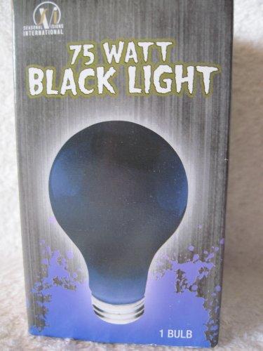 75 Watt Halloween Black Light Bulb by Seasonal Visions International