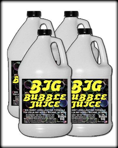 4 Gal - BIG Bubble Juice - Enormous Long-Lasting Bubble Fluid