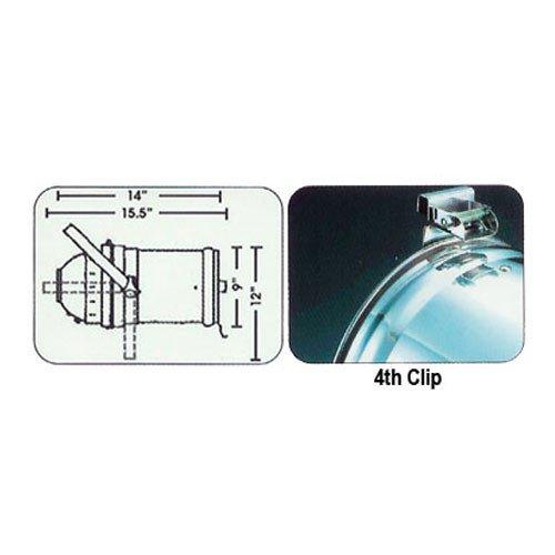 8 Black PAR CAN 56 300w PAR56 WFL 2 Dimmer O-Clamps
