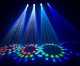NEW! CHAUVET 4PLAY LED DMX Light Beam/Bar Effect System + H700 Fog/Smoke Machine