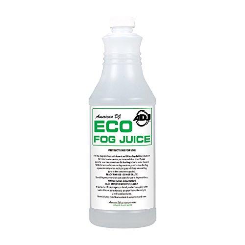 American Dj Eco Fog Q Quart Sized Water Based Fog Juice