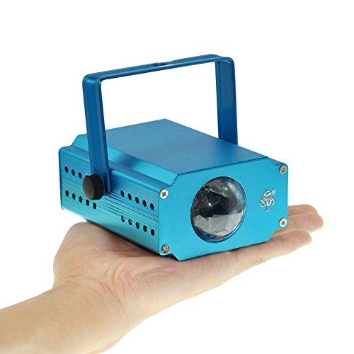 TSSS XL57 Xl57 3-Watt Led Stage Blue Water Wave Effect Rapple Projector