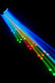 CHAUVET DERBY X DMX Pro DJ Club Effect Strobe Light + Fog Machine + Blacklight