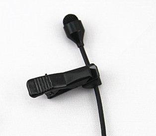JK® MIC-J 044 Lavalier Lapel Clip On Omni-directional Condenser Microphone For Computer Voip Skype Laptop Voice Amplifier (Mono 3.5mm Plug)
