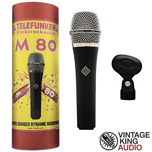 Telefunken Elektroakustik M-80 Hand Held Dynamic Microphone