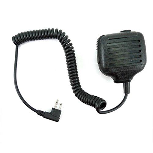 Handheld Speaker 2.5mm headphone jack Mic Microphone for 2 pin Motorola Radio CT450 CT450LS PRO1150 GP2100 GP300 GP308 etc.