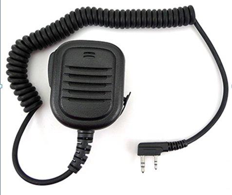 """ Handheld Speaker Mic for 2 PIN Kenwood Baofeng HYT Puxing Quansheng Weierwei Wouxun Linton Radio TK3206 TK2207 TK3207 TK3202 TK2312 TK3301 etc."