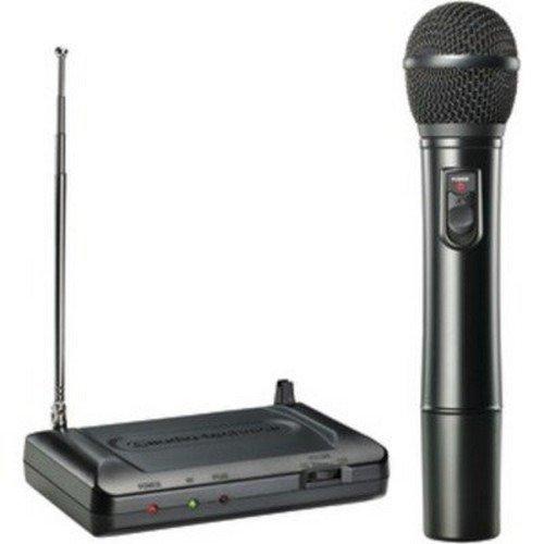 Audio Technica ATR7200-T2 HANDHELD VHF WL SYSTEM with MIC VOL CTRL ON BODY PK