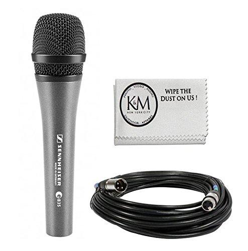 Sennheiser E835 Dynamic Cardioid Vocal Microphone with XLR Cable