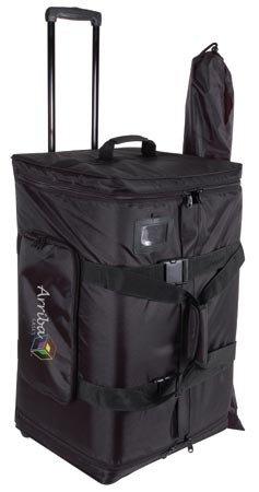 "Arriba Case AS185 Larger Rolling Speaker Bag for 15"" Speakers"