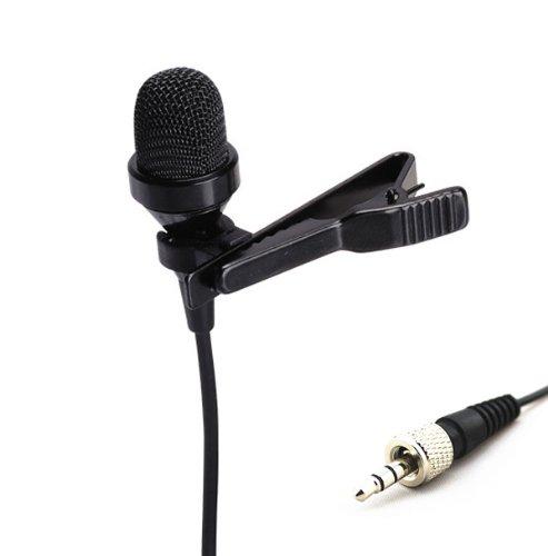 Pro Lavalier Lapel Microphone JK MIC-J 017 for Sennheiser Wireless Transmitter - Noise Cancelling Condenser Mic
