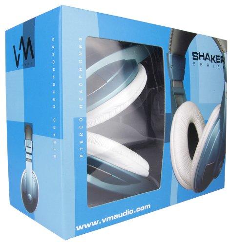 NEW VM Audio SRHP15 Stereo MP3/iPhone iPod Over the Ear DJ Headphones - Blue