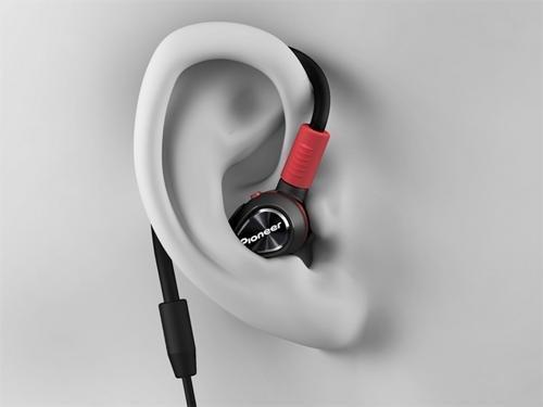 Pioneer Pro DJ DJE-1500-K Professional DJ In-Ear Headphones