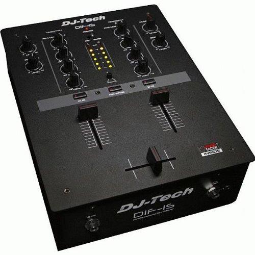 DJTECH DIF1S DJ Scratch Mixer