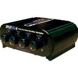 "ART SPLITMix4 - 4-Channel 1/4"" Stereo Input Passive Splitter / Mixer"