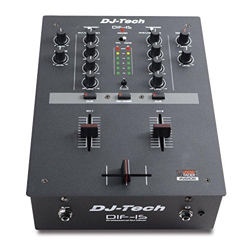 DJ Tech DIF-1S V2 Battle Mixer with Mini Innofader Crossfader
