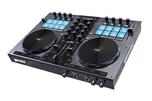 Gemini DJ G2V DJ Controller 2 Channel Midi Controller with Soundcard
