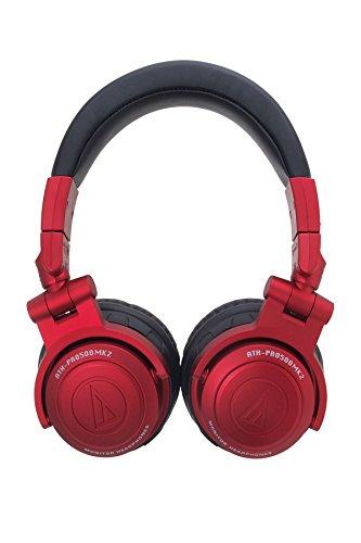 Audio Technica ATH-PRO500MK2 RD RED | DJ Monitor Headphones (Japan Import)