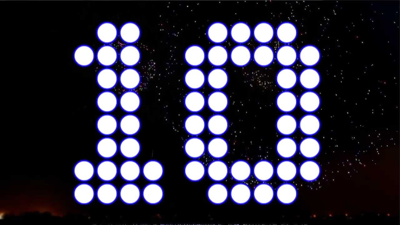 10 Second NYE Countdown