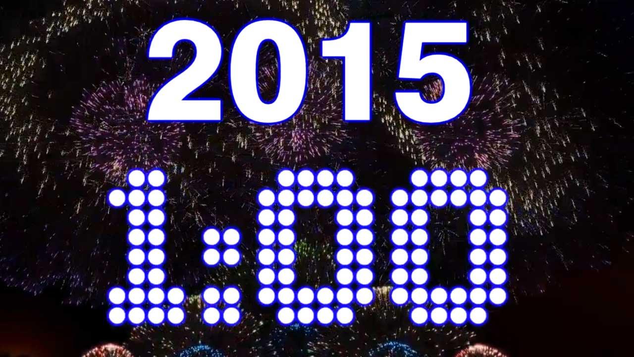 1 Minute NYE Countdown Video