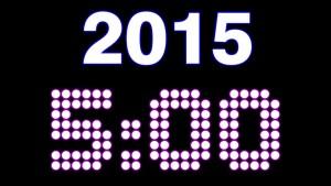 5 Minute NYE Countdown