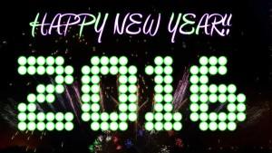Happy New Year 2016 Loop