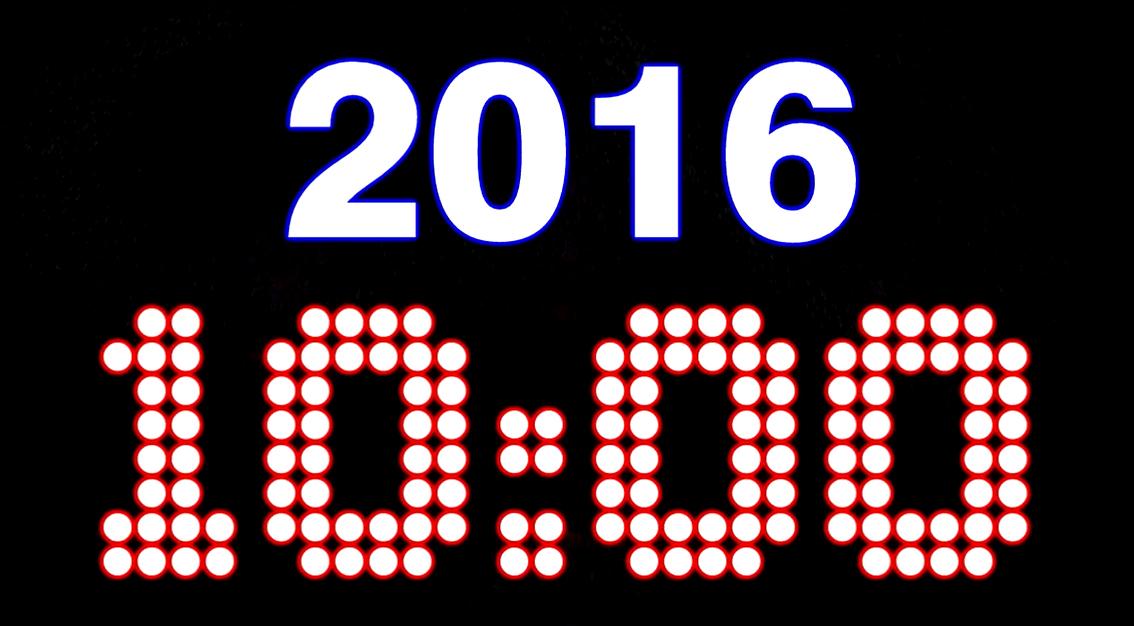 nye 10 Minute countdown
